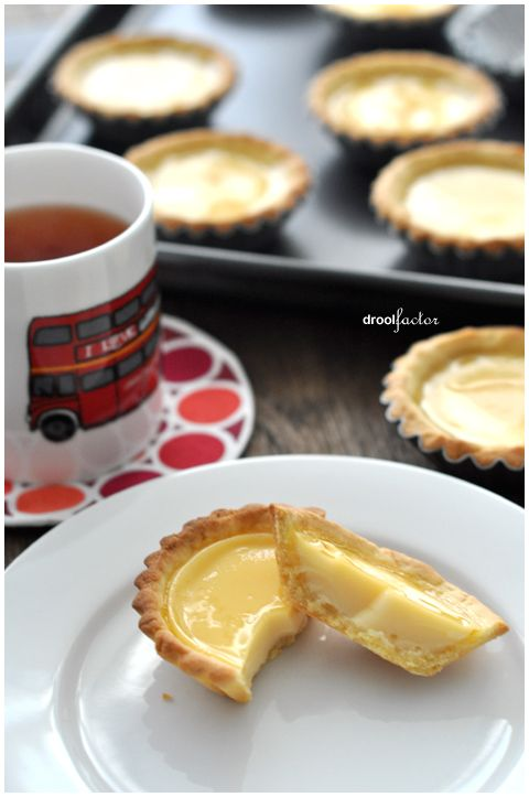 Hong Kong Style Egg Tarts - these are my favorite when I go to dim sum!
