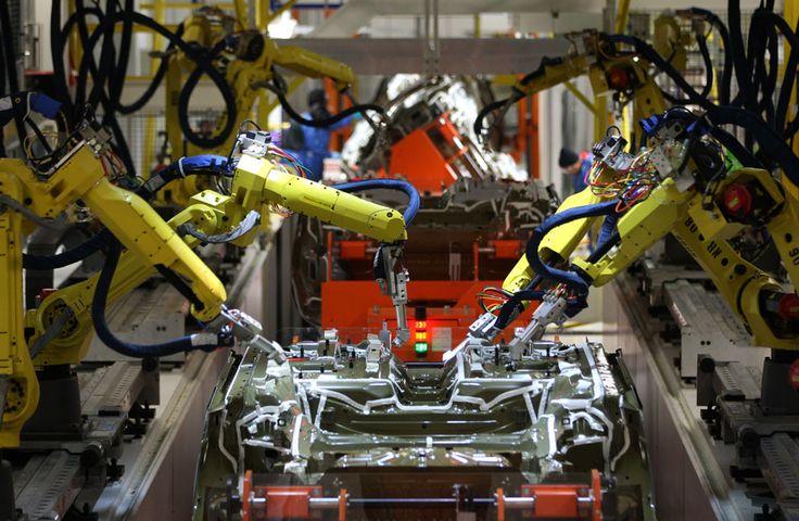 Robotic Welding cell. #Robots #RobotWelding #MadeInUSA #AutomotivePaint #Robots #MadeInUSA #Assembly #Automotive #AssemblyLine #RobotParts #Painting #Sealing #MadeInMichigan #AmericanMade #MichiganMade #SkilledTrades #Integration #Automation #RobotTooling #RobotTools #EndOfArmTooling
