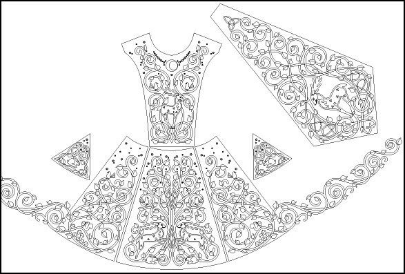 21 mejores imágenes de Celtic Yarns Irish Dance Dresses en Pinterest ...