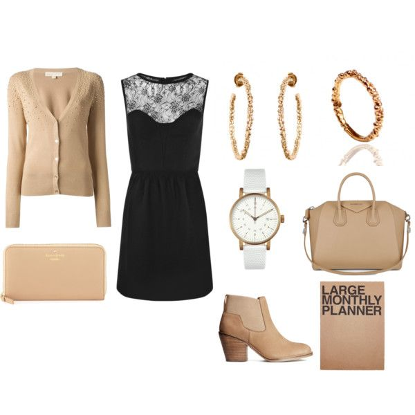 """Office look with Metallics"" by mounirjewellery on Polyvore"