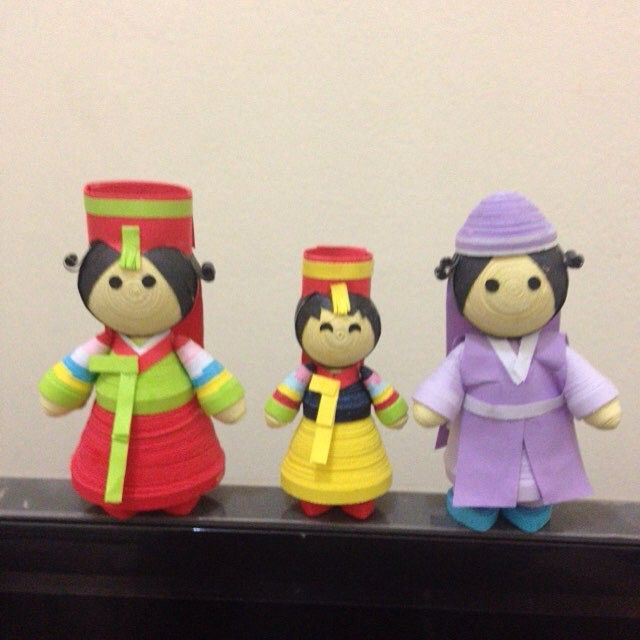Korean family 3D
