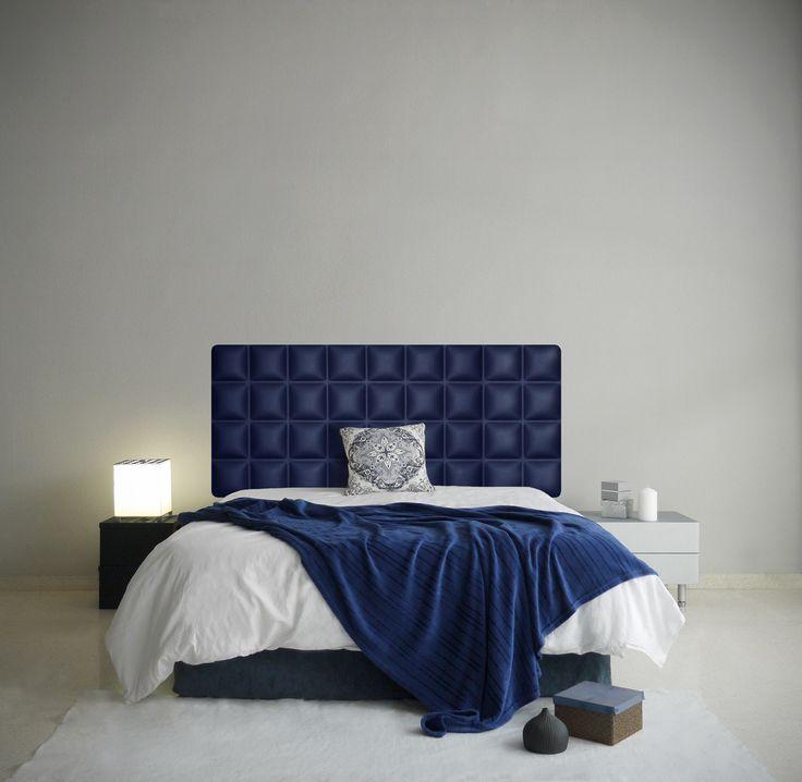 Más de 1000 ideas sobre dormitorios de color azul oscuro en ...