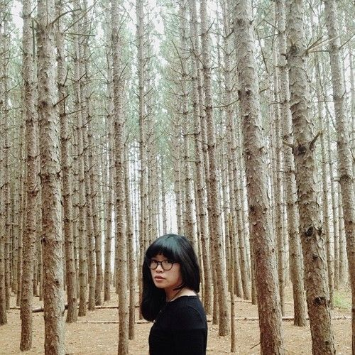 With the trees. ++ photography : melody hansen