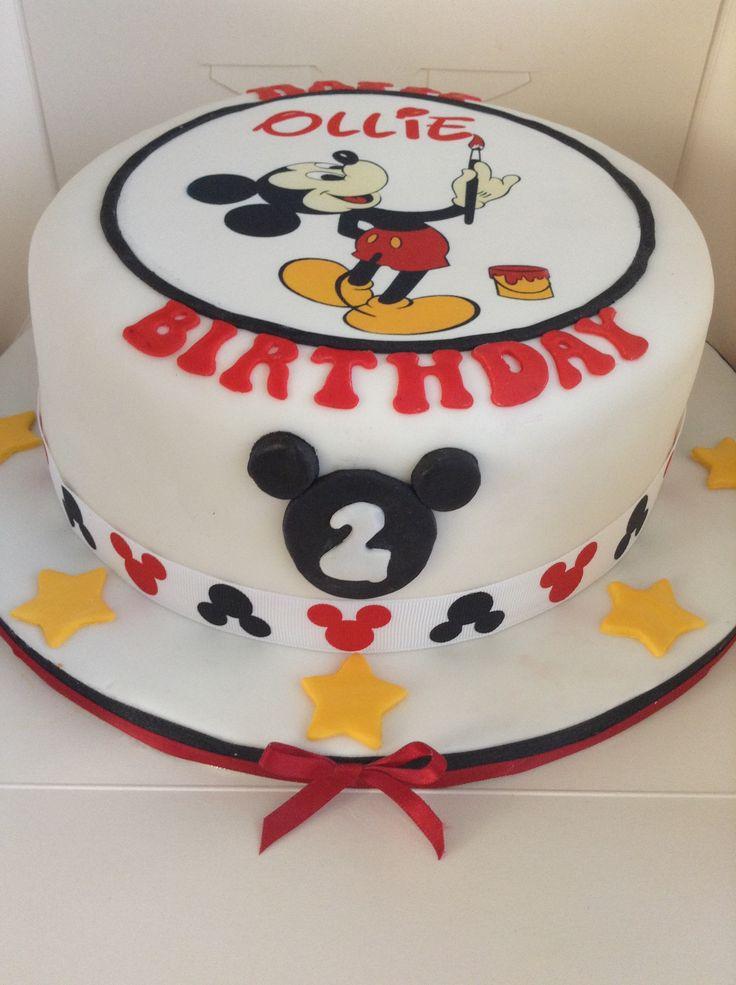 Making St Birthday Cake