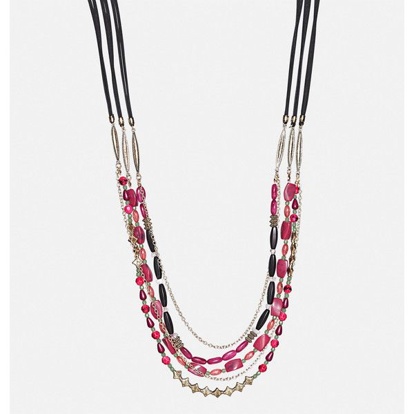 Avenue Layered Aztec Necklace (1,035 INR) ❤ liked on Polyvore featuring jewelry, necklaces, mauve, plus size, layered necklace, aztec jewelry, imitation jewelry, aztec necklace and artificial jewellery