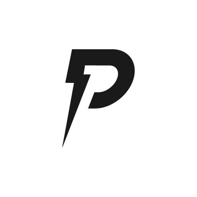 entwurfsvorlage fur buchstabe p und blitz logo blitzlogo design vorlage grafik logos vektor illustrator als vektorgrafik