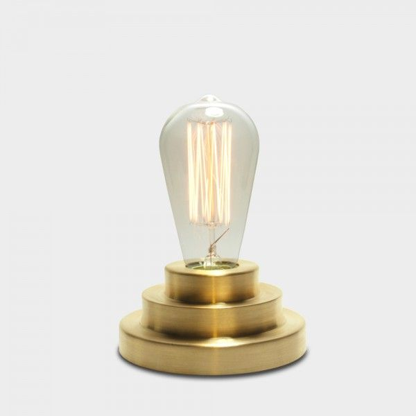 Podium Table Lamp Brass