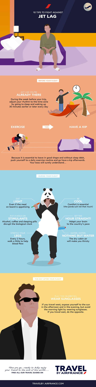 10 tips to fight against jet lag