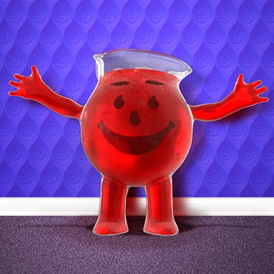 The Kool-Aid man stars in his own Photobombing mobile app! He may look fun-loving, but this mobile app isn't kool for kids to use.