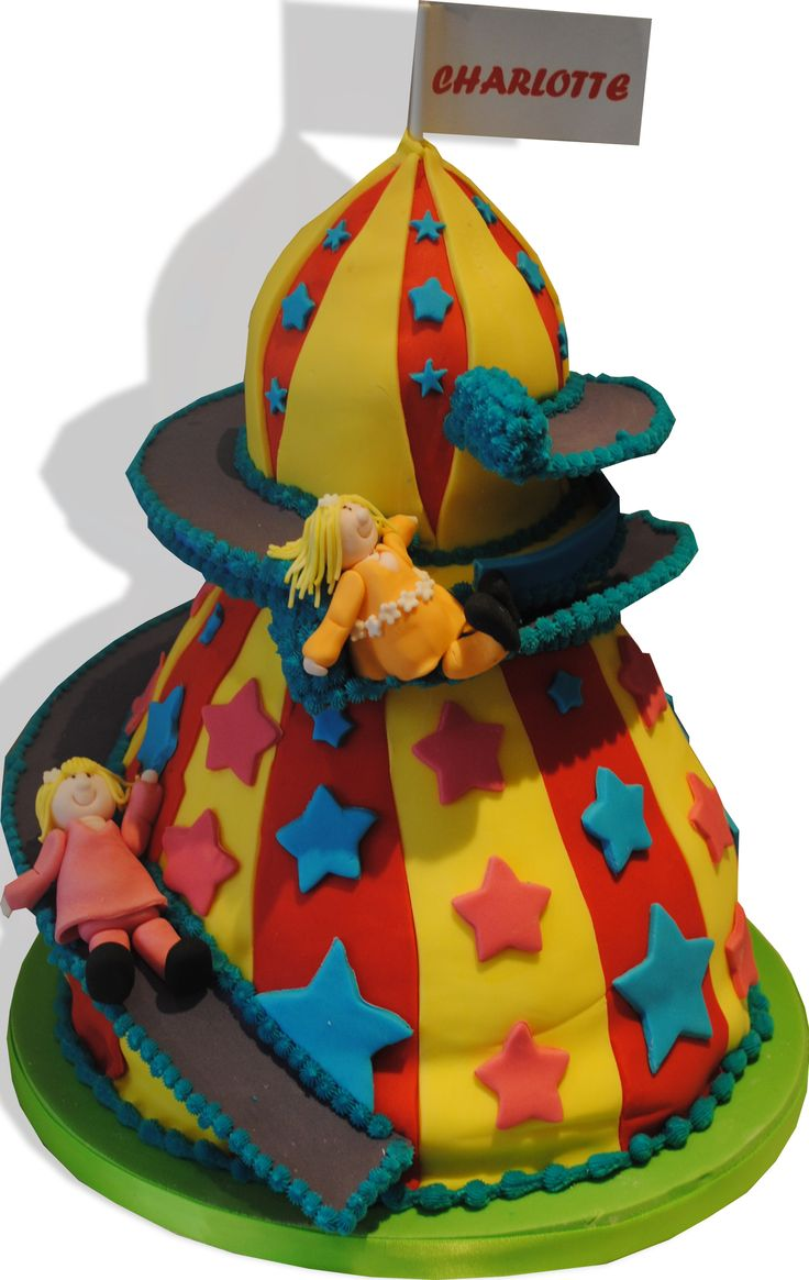 Helter skelter cake, starry cakes Northampton, www.starry-design-studio.co.uk