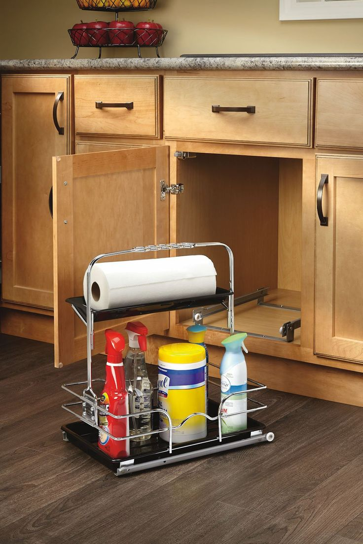 27 best diy texture of the month may leather images on store multiple cleaning items under a kitchen or bathroom sink by using this rev a shelf under sink caddy system comes with leak proof trays