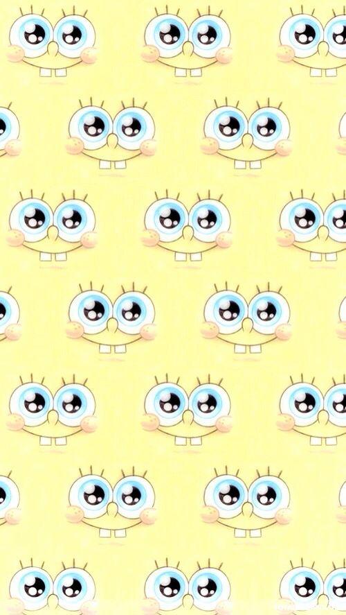 Cute spongebob iPhone