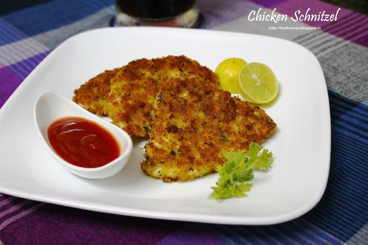 Chicken Schnitzel [A Masterchef Australia recipe]
