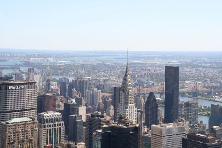view from empire state building - 2009