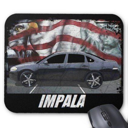 2008 Impala Mouse Pad - classic gifts gift ideas diy custom unique