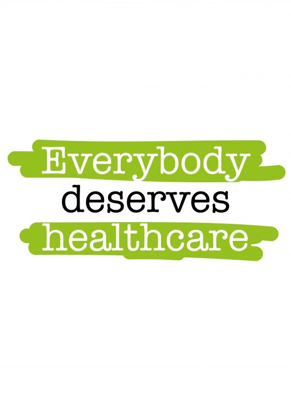 Everybody deserves healthcare | DEMOCRACY DELIVERED | Send real postcards online | Democracy Delivered