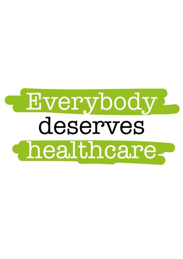 Everybody deserves healthcare | DEMOCRACY DELIVERED | Send real postcards online | Democracy Delivered
