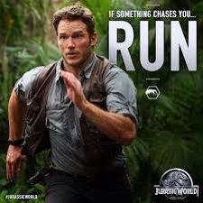 Chris Pratt in Jurrasic World