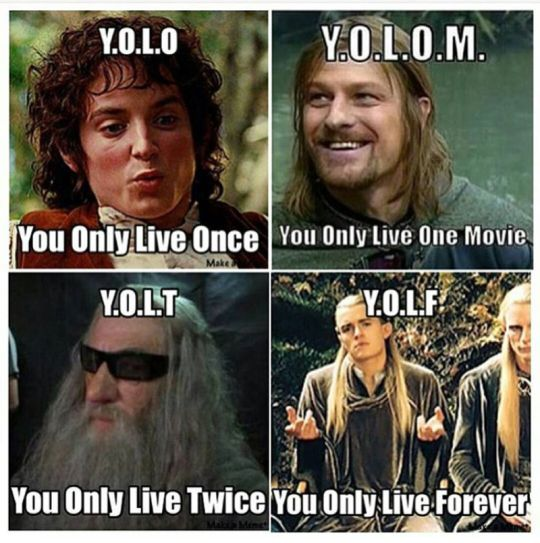 I would have to agree with my precious Legolas! :p