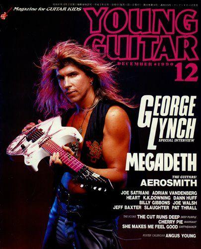 George Lynch - Young Guitar - Dec. 1990