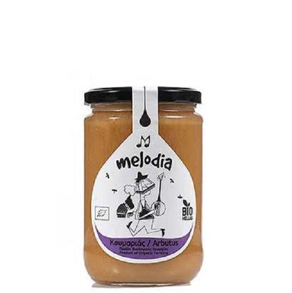 """ORGANIC HONEY ARBUTUS """"MELODIA"""" 420 GR from IOANNINA NEW !!! Greek honey #MELODIA"""