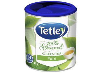 Tetley 100% Steamed Pure Green