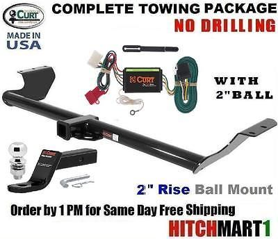 "FITS 2011-2016 HONDA ODYSSEY VAN CLASS 3  CURT TRAILER HITCH PACKAGE w/ 2"" BALL"
