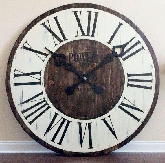 41 best diy large clocks images on pinterest clock wall on wall clocks id=76872