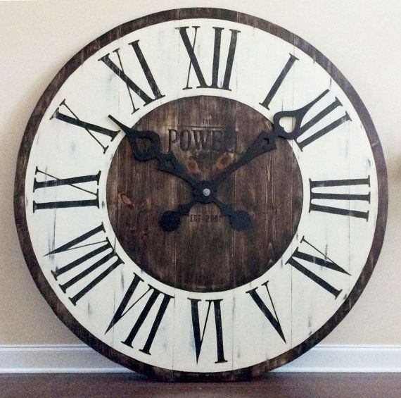 25 Best Ideas About Rustic Wall Clocks On Pinterest Large Rustic Wall Cloc