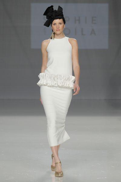 Vestidos de novia cortos: diseños que te enamorarán. ¡Elige el tuyo! Image: 22