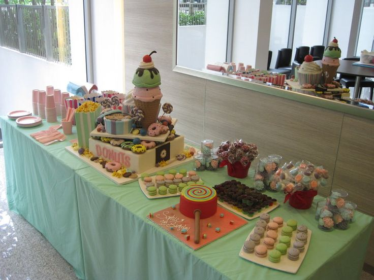 Party Dessert Buffet