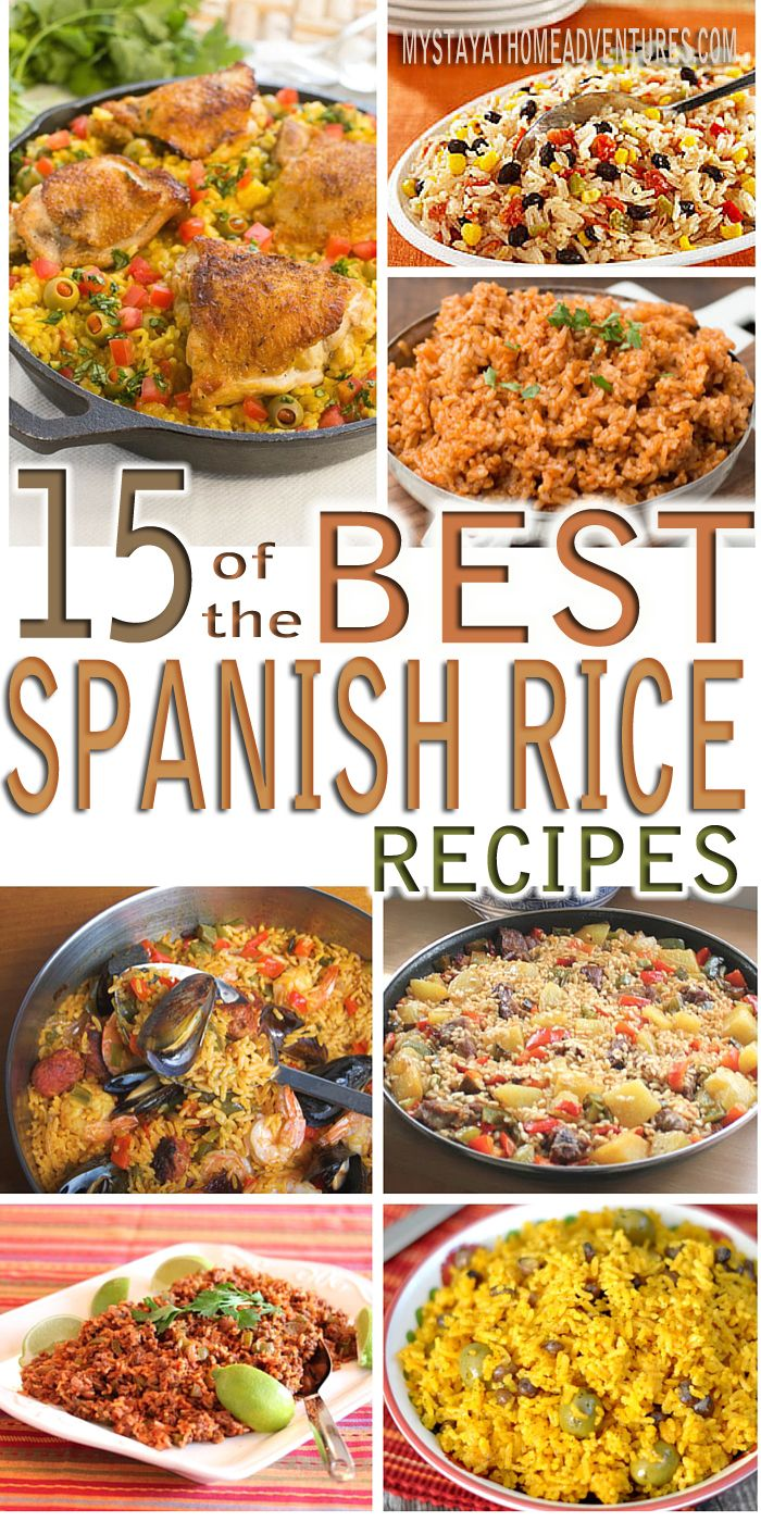 46 best spanish rice and recipes images on pinterest cooking looking for a delicious spanish rice recipe check out this spanish rice recipes roundup for forumfinder Gallery