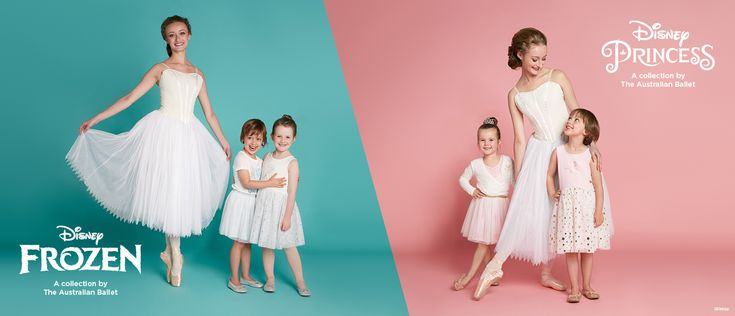 Disney's Frozen and Princess ballerina collection by The Australian Ballet