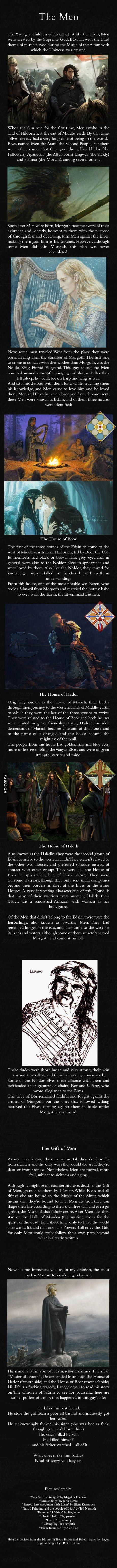Men (hoomans) - J.R.R. Tolkien's Mythology