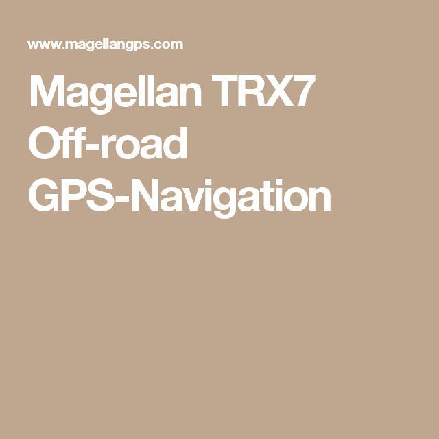 Magellan TRX7 Off-road GPS-Navigation