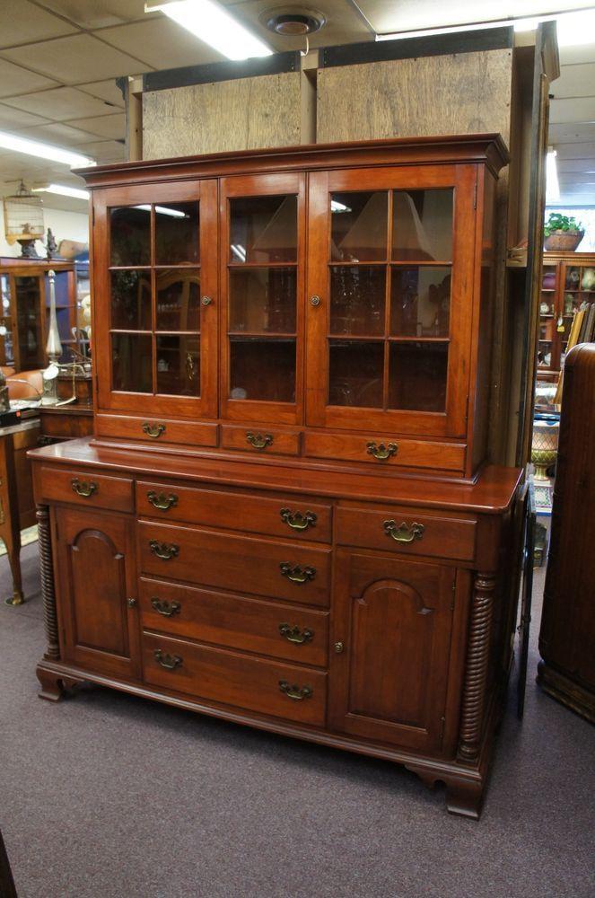 Willett Wildwood Solid Cherry China Cabinet Hutch Mid Century Vtg Barkey  Twist - 604 Best Willett Furniture Images On Pinterest Medieval, Mid
