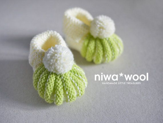 Baby booties mades by crochet by niwawool on Etsy, €18.00