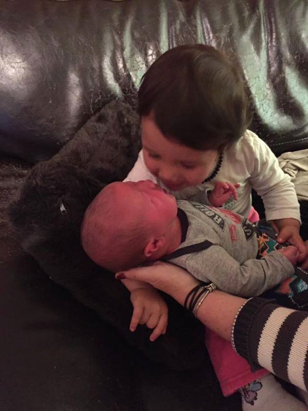 Ava-Rose Just Loves Being A Big Sister <3