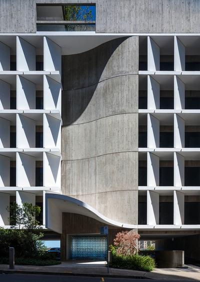 Seidler Offices & Apartments, Sydney Harry Seidler & Associates