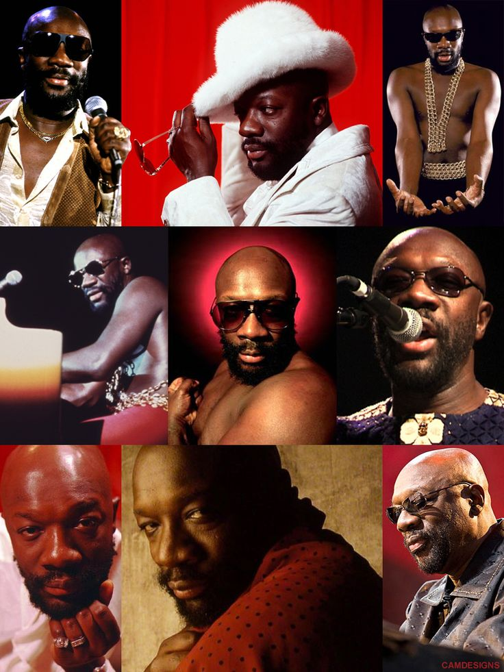 Isaac Lee Hayes, Jr. (Aug. 20, 1942 – Aug. 10, 2008) was an American songwriter, musician, singer, actor, & voice actor. Hayes was one of the creative influences behind the southern soul music label Stax Records, where he served both as an in-house songwriter and as a record producer during the mid-1960s. He acted in numerous blaxploitation films in the 1970s, and gained new popularity in the late 1990s as the voice of Chef on animated television series, South Park.