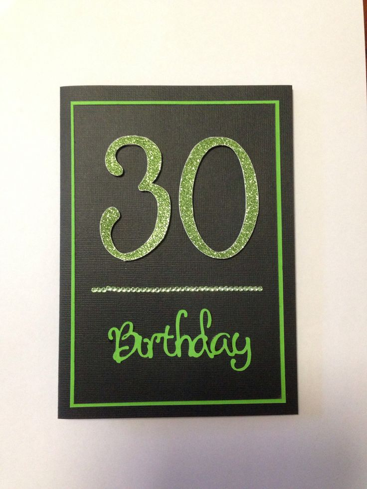 30th Card