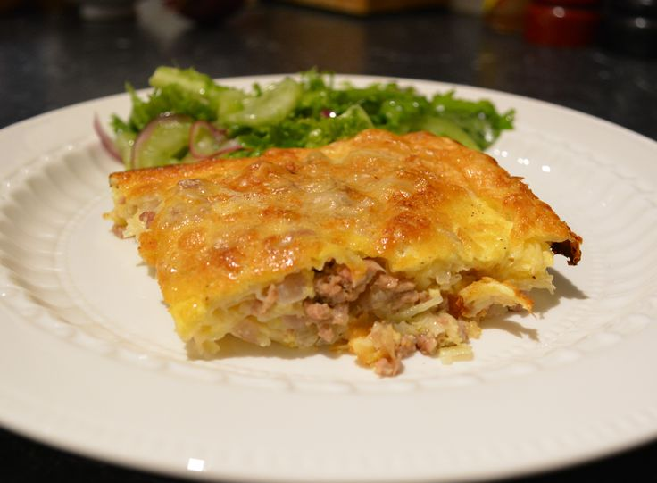 Mince and Potato Pita. Find the recipe at http://www.whatscookingella.com/blog/mince-and-potato-pita