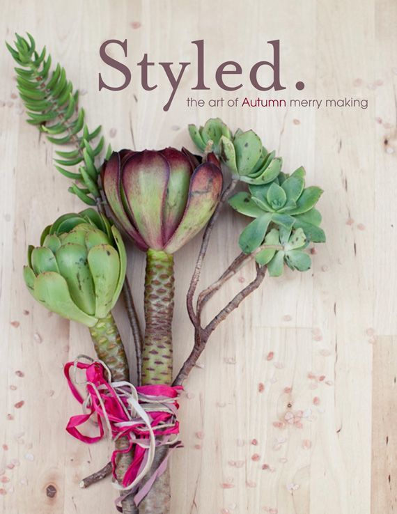 Styled magazine autumn/2011 #celebration #craft #design #DIY #food #handmade #party #free