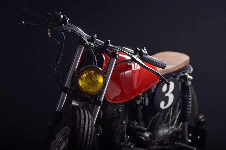 Sexta Insana: CG 125 brat by Low Budget Customs   Garagem Cafe Racer