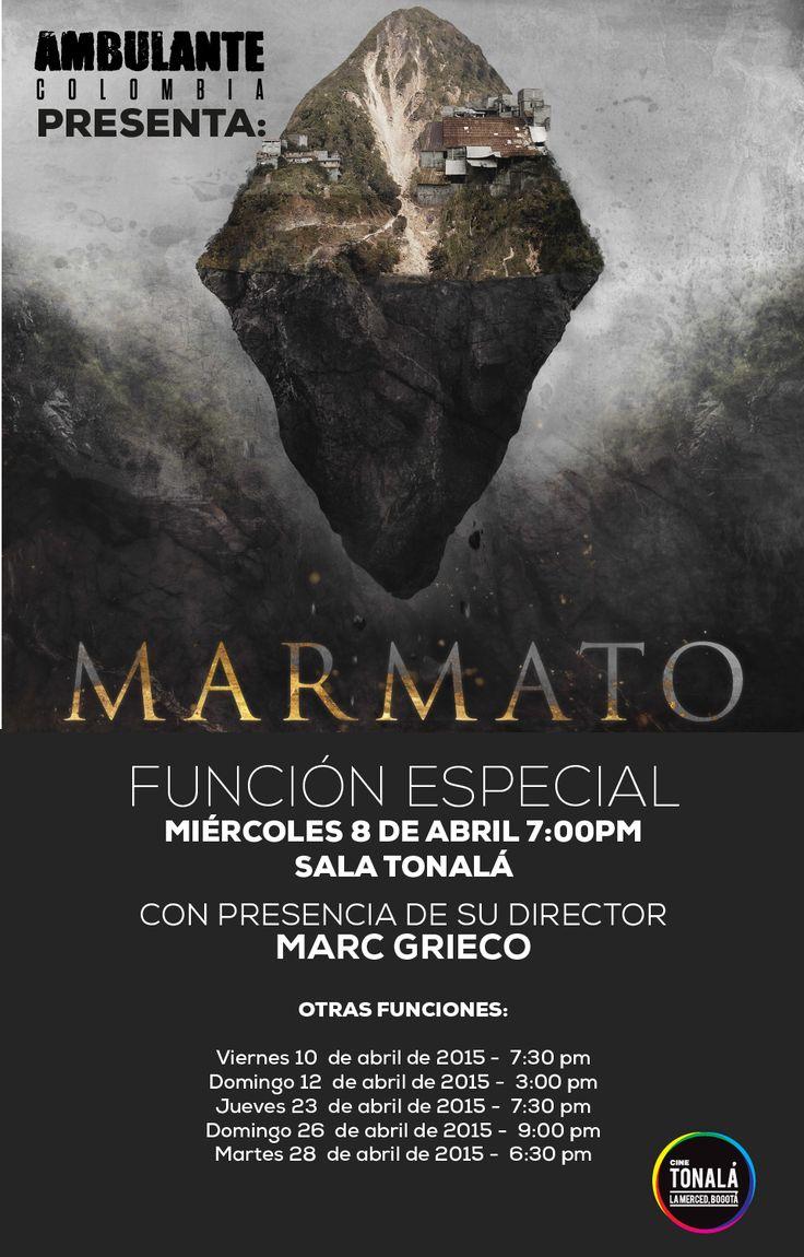 Ambulante Presenta #Marmato en @CineTonalaBogota