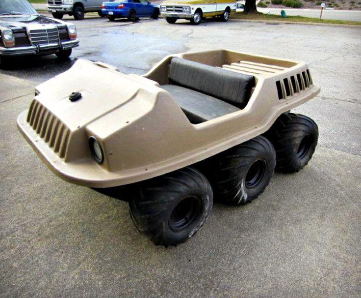 Max II 6x6 Amphibious ATV on GovLiquidation. This is a fun ...