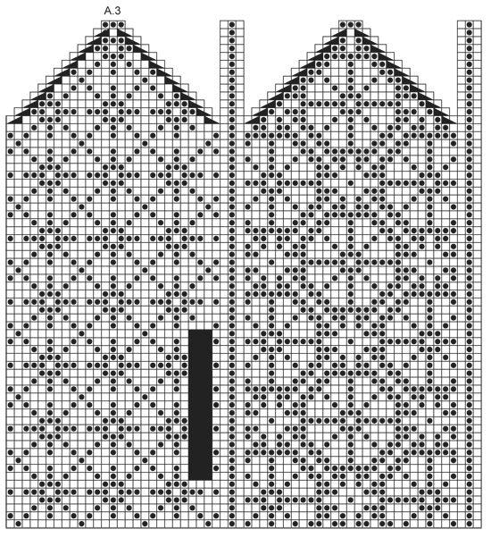 """Moonflower Mittens / DROPS 165-42 - Stickade DROPS vantar i """"Fabel"""" med nordiskt mönster. - Free pattern by DROPS Design"""