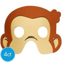 craft idea from party city. http://www.partycity.com/product/monkey+party+supplies.do#Favors