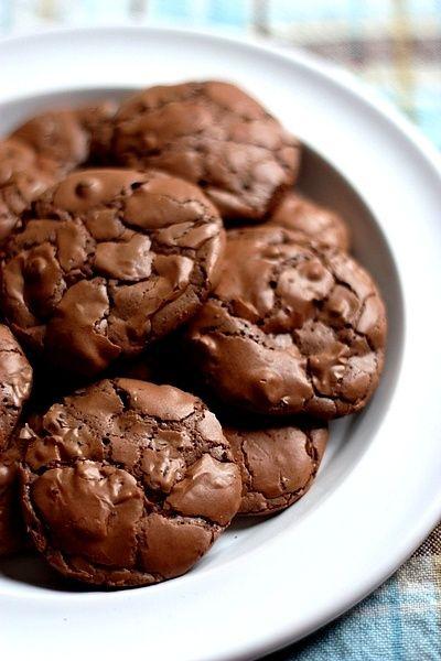 Brownie-Chocolate Chip Cookies