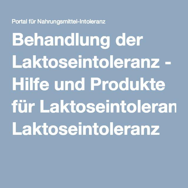 Behandlung der Laktoseintoleranz - Hilfe und Produkte für Laktoseintoleranz